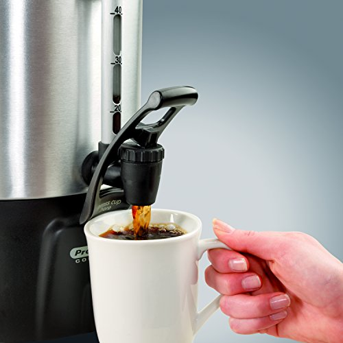 Proctor Silex 45100 100 Cup Brushed Aluminum Coffee Urn