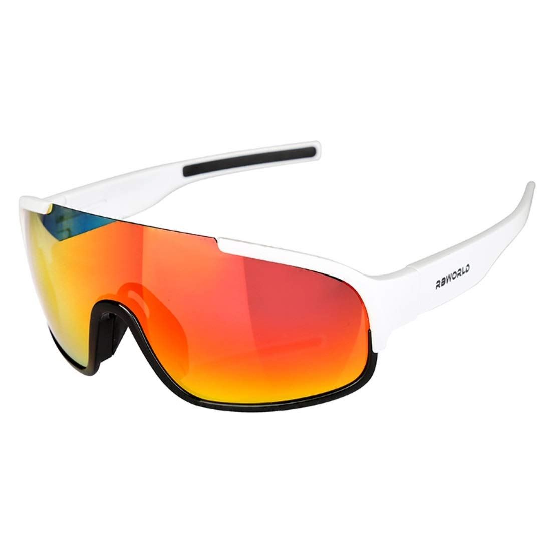 BAOYIT Outdoor Riding Windproof Sand-Proof Glasses Men and Women Riding Equipment Riding Sunglasses Protection Eye (Color : White) by BAOYIT