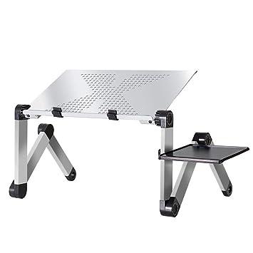 Aluminio Ajustable del Ordenador portátil de Escritorio ergonómica ...