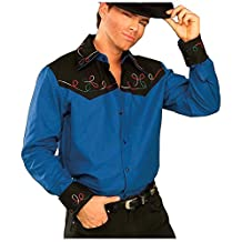 Forum Novelties Men's Plus-Size Cowboy Costume Extra-Large Shirt