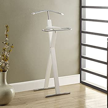 Monarch Chrome Metal Valet Stand