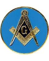 """Masonic Blue 3"""" Auto Car Emblem - The Masonic Exchange"""
