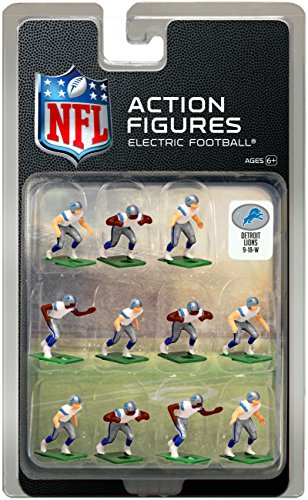 - Detroit Lions Away Jersey NFL Action Figure Set