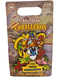 Disney Pin - The Three Caballeros 75th Anniversary