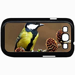 Fashion Unique Design Protective Cellphone Back Cover Case For Samsung GalaxyS3 Case Birds 30776 Black