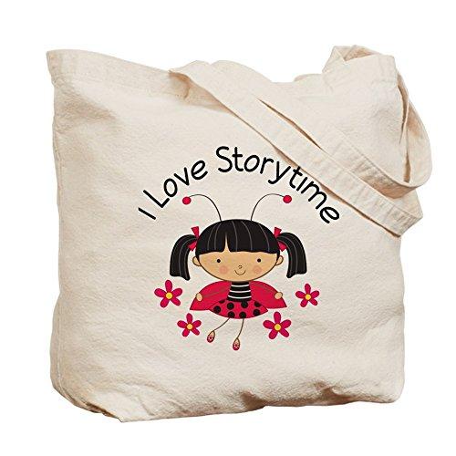 CafePress I Love Storytime Reading Tote Bag - Standard Multi-color by CafePress