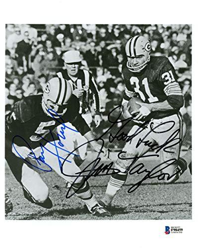 Jim Taylor & Paul Hornung Autographed 8x10 ()