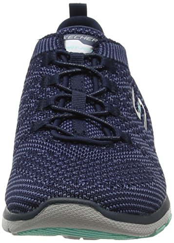 para Navy Blue Azul Mujer Entrenadores Skechers Galaxies Sq4S8