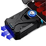 EletecPro Laptop Cooler Cooling External Fans with Vacuum, High Compatibility w/ 4 Junction Shrouds, Adjustable Wind Speed, Reusable Tape, Power Saving, Loptop, Notebook Computer CPU Cool pad