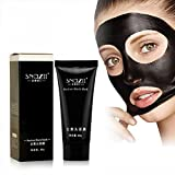 #5: Suction Black Mask Blackhead Remover- Peel Off Tearing Style Deep Cleansing Facial Mask - Pore Cleaner for Oil Control - Anti-Aging & Anti Acne Treatment for Soft and Glowing Skin