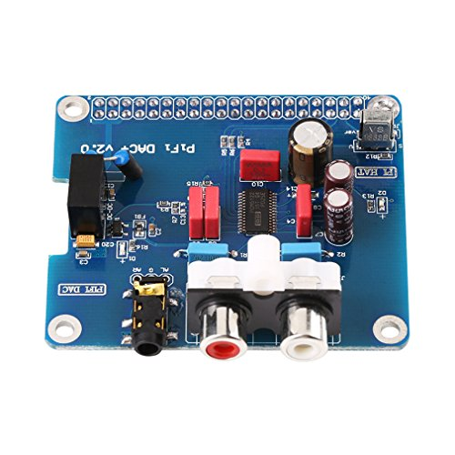 DAC Digital-to-Analog Converter Audio Sound Module For Raspberry pi B+2B( DAC Board) by Walfront