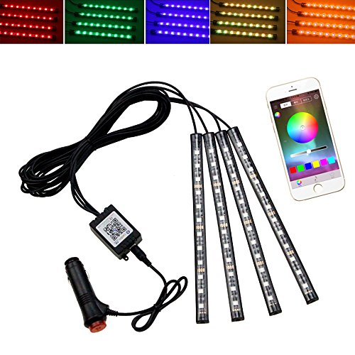 Color Changing Led Dome Lights - 8