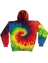Buy Cool Shirts Kids Tie Dye Pullover Multi Reactive Rainbow Swirl Hoodie