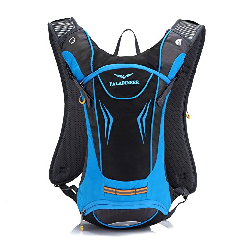 Paladineer 8L Hydration Backpack Daypack Cycling Pack Sport Bag Hiking Backpack Bike Backpack Blue