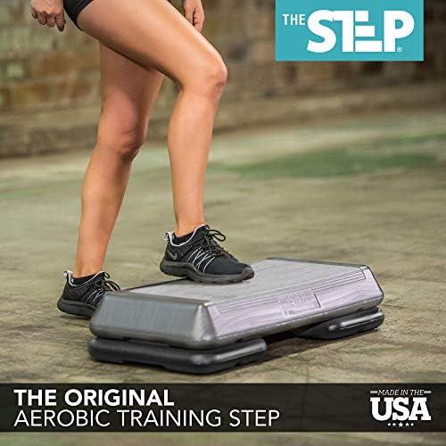 The Step, Plataforma para Ejercicios aeróbicos Original, tamaño Circuito 8