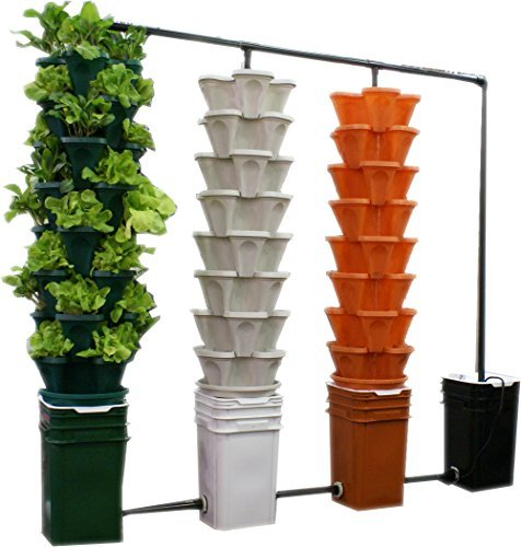 Mr Stacky Large 64 qt. Vertical Garden Planter - Set of 5 by YP Supplier LLC