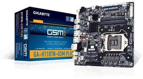 GIGABYTE GA-H110TN-GSM PLUS LGA 1151 DDR4 SO-DIMM