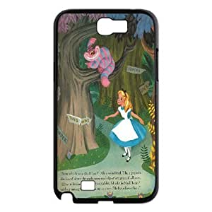 Yo-Lin case IKAI0446871Alice in Wonderland For Samsung Galaxy Note 2 Case