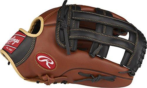 "Rawlings Sandlot Series Leather Pro H Web Baseball Glove, 12-3/4"", Regular, Right Hand Throw"