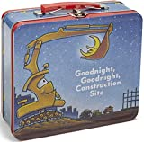 Best Kids Preferred Baby Books Sets - Kids Preferred Goodnight Construction Site Tin Lunch Box Review