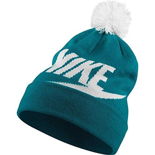 - Nike Swoosh Womens Beanie (Blustery/White)