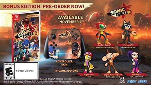 Sonic Forces – Bonus Edition – Nintendo Switch