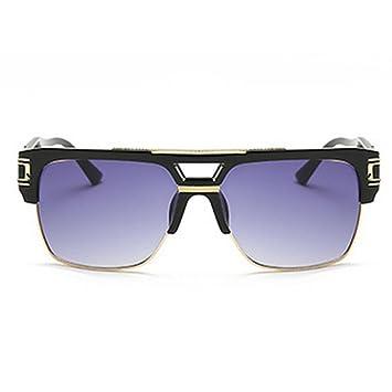 71ac36b940f Horrenz Brand Designer Oversized Sunglasses Women Clear Lens Glasses  Eyeglasses Flat Top Mirror Sun Glasses Male
