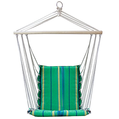 ReLIVE Rope Hanging Hammock Chair Swing With Included Cus.