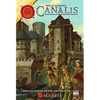 Canalis Board Game