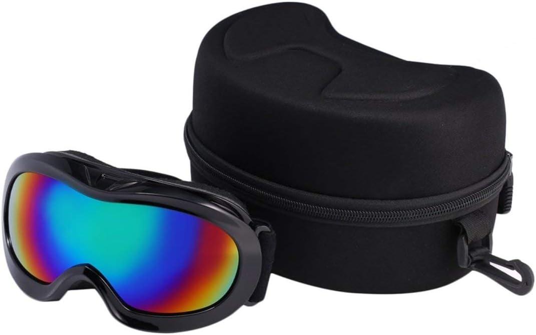 Unitedheart Mã¡Scara Antideslizante UV400 a Prueba de Viento UV400 Gafas de Esquã de Nieve para Niã±Os Snowboard Gafas de Protecciã³n para Deportes a