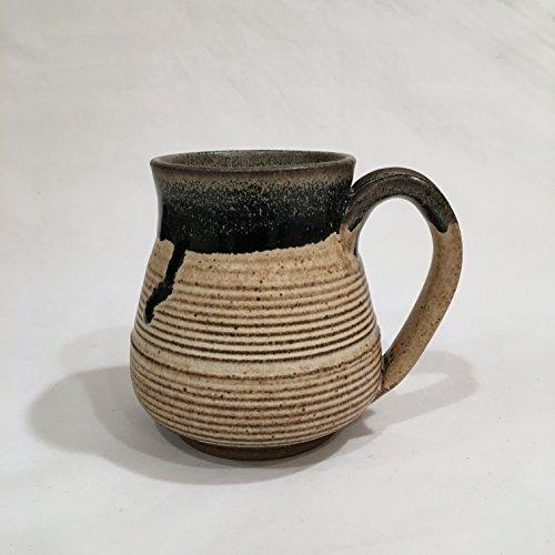 Textured Coffee Mug, Handmade Ceramic Coffee Mug, Pottery Mug TMAY17BOV 16 OZ
