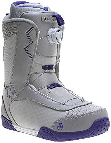 K2 Women's Sendit BOA Snowboard Boots, Grey