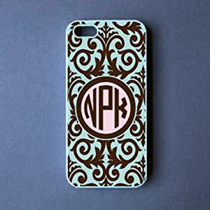 Monogram Iphone 5 Case - Choclate Damask Iphone 5 Cover