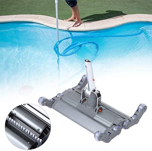 Aluminiumlegering met rollen Zwembad vacuümzuiging, zwembad vuilafzuiging Duurzame zwembadapparatuur voor zwembad Huishoudvijver