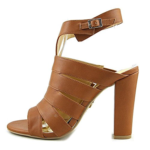 Thalia Women Sandals Leather Sodi Toe Cognac Black Open Ebbony W SHpwxSr