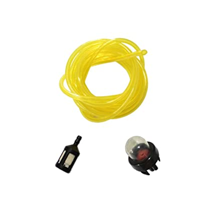Poweka Replacement Snap in Primer Bulb Fuel Line Filter for McCulloch  Chainsaw 3210 3214 3216 3200