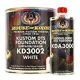 Kustom DTS Foundation White Surfacer Sealer Kit w/Hardener (Gallon)