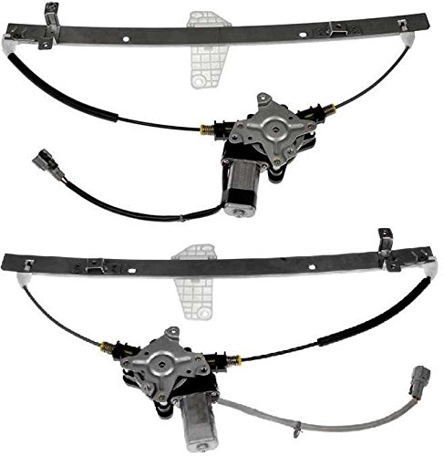 Prime Choice Auto Parts WR848983PR Rear Set of Window Regulator w/Motor by Prime Choice Auto Parts