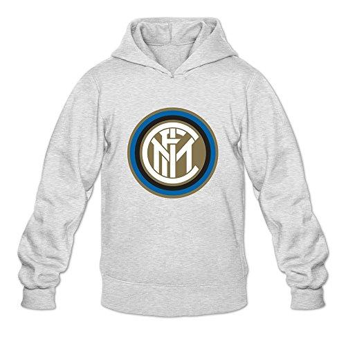 - Men Inter Milan Custom Retro Size M Color Ash Hoddie By Mjensen