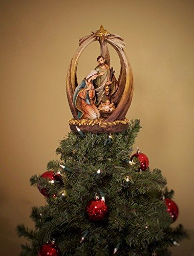 Summit Arbor Holy Family with Star Christmas Tree Topper by Summit Arbor LLC