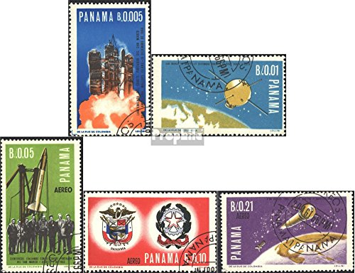 Panama 892-896 (Complete.Issue.) 1966 Space Research (Stamps for Collectors) Space