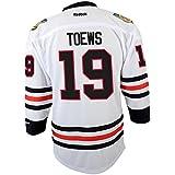 Jonathan Toews Chicago Blackhawks Youth NHL Reebok White Replica Jersey