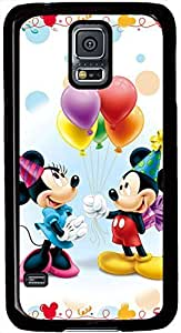 Cute Disney Mickey Mouse Samsung Galaxy S5 Protector Design Charming Cover Case, Galaxy S5 Hard Shell Black Cover Cases by iCustomonline by ruishername