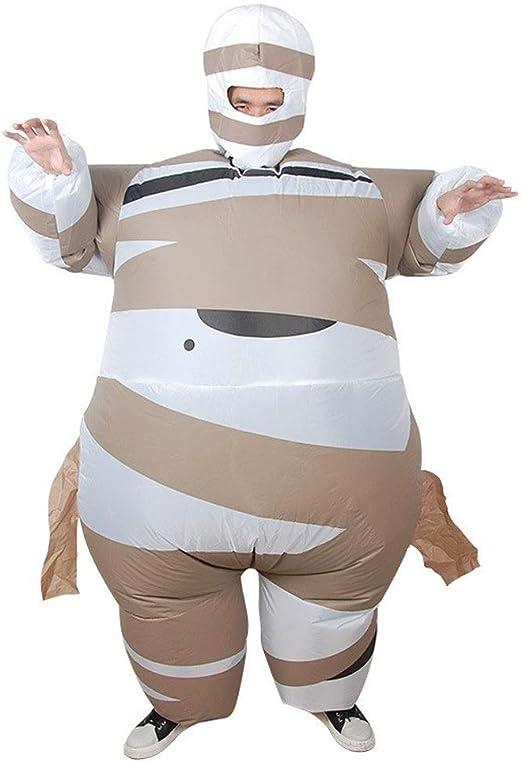 KODH Inflable Adulto de Halloween de la Momia del Partido del ...