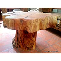Naturally Unique Cypress Tree Trunk Handmade Coffee Table - Log Rustic Chilean - FREE WORLDWIDE SHIPPING
