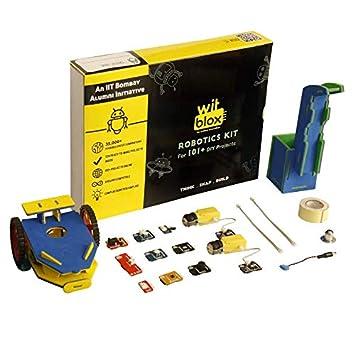 cf68fc2ea28f WitBlox Mega DIY Robotics Kit for 101 Projects  Amazon.in  Toys   Games