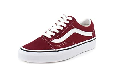 Vans Old Skool Rumba Red/True White (9.5 Women / 8 Men M US)