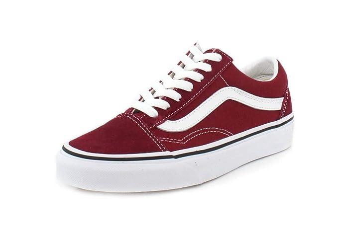 Vans Old Skool Sneaker Damen Herren Kinder Unisex Rot