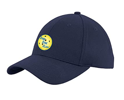 f0af6fa8bf7 Image Unavailable. Image not available for. Color  Dink Dink Slam Pickleball  Baseball Adjustable Men and Women Caps