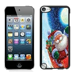 Custom-ized Santa Claus Black For SamSung Galaxy S4 Case Cover 9